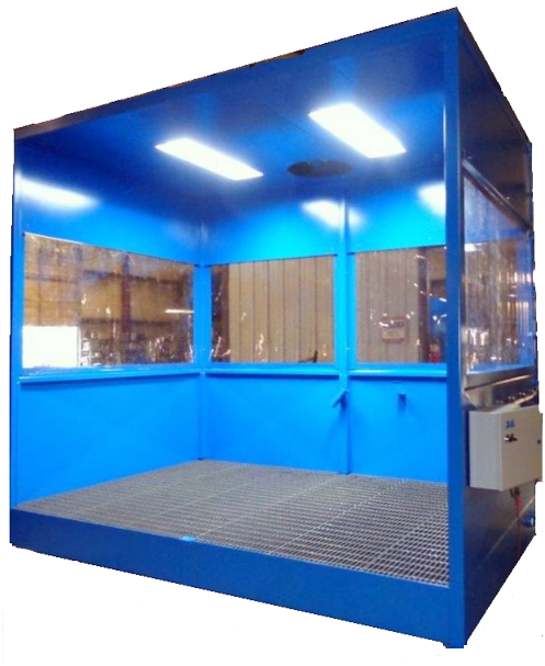 High Pressure Spray Booth : Wash booth kc quality systems parts washer auto